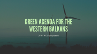 Balkan Green Foundation supports joint NGO proposals on the Green Agenda for the Western Balkans